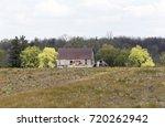 Decaying Barn Across Field