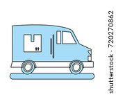 delivery truck icon image | Shutterstock .eps vector #720270862