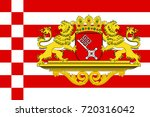 flag of the free hanseatic city ... | Shutterstock . vector #720316042