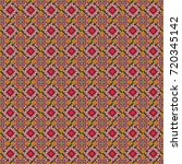 Vector Checkered Fabric Textur...