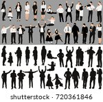 isolated  a collection of... | Shutterstock . vector #720361846