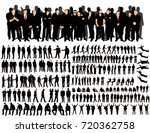 isolated  a collection of... | Shutterstock . vector #720362758
