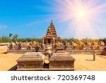 famous tamil nadu landmark  ... | Shutterstock . vector #720369748