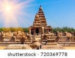 famous tamil nadu landmark  ... | Shutterstock . vector #720369778
