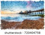 Watercolour Painting Of Dawn At ...
