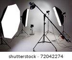 large photostudio with lighting ... | Shutterstock . vector #72042274