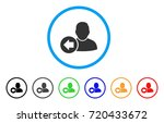 previous user rounded icon.... | Shutterstock .eps vector #720433672