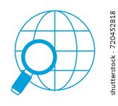 global sphere icon | Shutterstock .eps vector #720452818