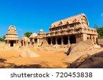 famous tamil nadu landmark  ... | Shutterstock . vector #720453838