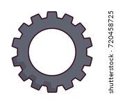 gear wheel icon   Shutterstock .eps vector #720458725