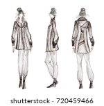 photo of professional fashion... | Shutterstock . vector #720459466