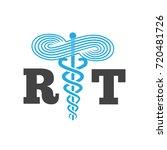 respiratory therapist medical... | Shutterstock .eps vector #720481726