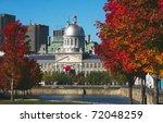 historical bonsecours market... | Shutterstock . vector #72048259