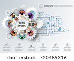 concept for business teamwork
