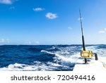 Fishing Rod In A Saltwater...