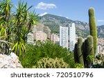 botanical garden and... | Shutterstock . vector #720510796