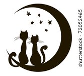 Cats On The Moon. A Loving...