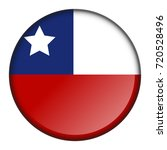 isolated flag button of chile...