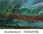 texture of oil paint | Shutterstock . vector #720565546