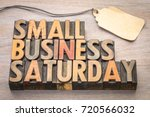 small business saturday word... | Shutterstock . vector #720566032
