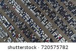 aerial top down view photo... | Shutterstock . vector #720575782