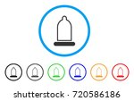 condom rounded icon. style is a ...   Shutterstock .eps vector #720586186