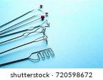 set of logopedic probes for... | Shutterstock . vector #720598672