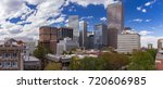 panorama of the downtown denver ... | Shutterstock . vector #720606985