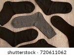 classic men's socks. men's... | Shutterstock . vector #720611062