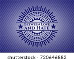 between love and hate with...   Shutterstock .eps vector #720646882