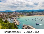 san sebastian  spain   june 24  ... | Shutterstock . vector #720652165