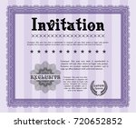 violet invitation template....