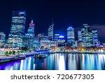 Urban Landscape Of Perth...