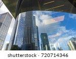window glass  modern... | Shutterstock . vector #720714346