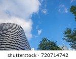 window glass  modern... | Shutterstock . vector #720714742