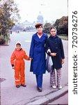 ussr  leningrad   circa 1980 ... | Shutterstock . vector #720736276