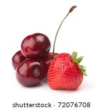 fresh ripe berries photographed ... | Shutterstock . vector #72076708