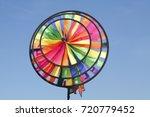 multicolored windspell  wind... | Shutterstock . vector #720779452