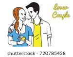 vector illustration character... | Shutterstock .eps vector #720785428