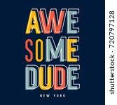 kids t shirt print design  ... | Shutterstock .eps vector #720797128
