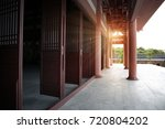 chinese temple architecture | Shutterstock . vector #720804202