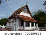 wat amphawan chetiyaram   samut ... | Shutterstock . vector #720809836