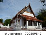wat amphawan chetiyaram   samut ... | Shutterstock . vector #720809842