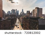 chinatown and downtown... | Shutterstock . vector #720812002