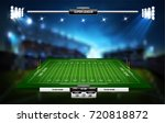 vector of american football... | Shutterstock .eps vector #720818872