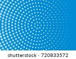 comic pattern. halftone... | Shutterstock .eps vector #720833572