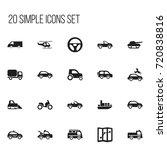 set of 20 editable shipment...