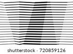 black and white stripe line... | Shutterstock .eps vector #720859126