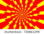 lightning bolt   abstract... | Shutterstock .eps vector #720861298