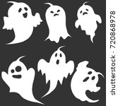 ghost  the ghost icon ... | Shutterstock .eps vector #720868978